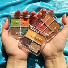 4 couleurs mat miroitant nacré paillettes imperméable à leau ombre à paupières Pigment fard à paupières Palette maquillage cosmétiques longue durée TSLM1