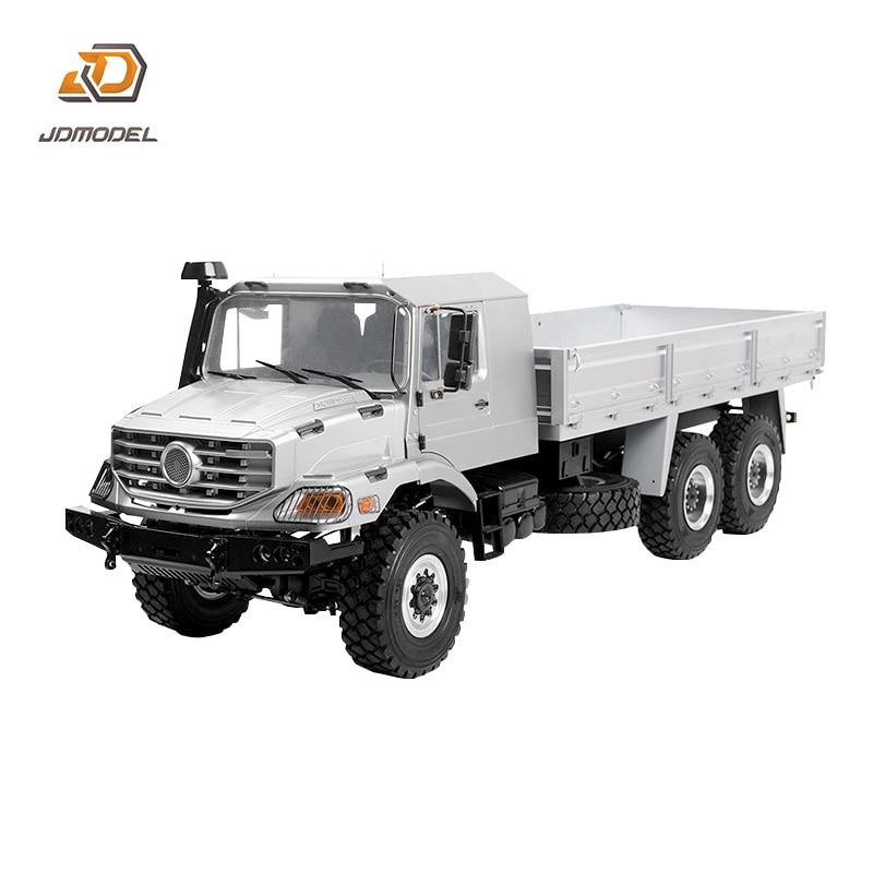 JDM 158 1/14 6*6 معدن على الطرق الوعرة شاحنة المحور التفاضلي 2 صندوق ترس السرعة PNP تجميعها TH18491