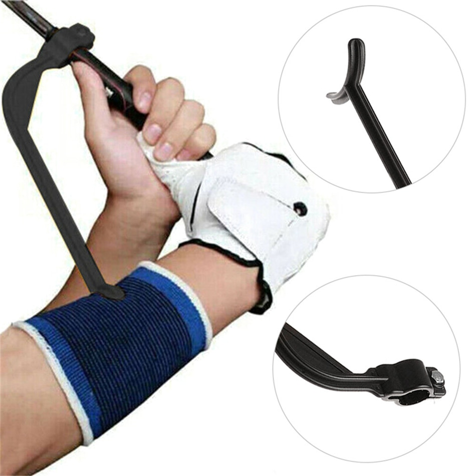 Practice Golf Training Aids Golf Swing Guide Training Aid/Trainer for Wrist Arm Corrector Control Gesture practice guide golf swing trainer beginner alignment golf clubs gesture correct wrist training aids tools golf accessories