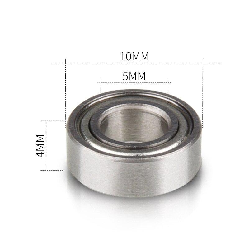 8 Uds bolas de ranura profunda rodamiento en miniatura MR105ZZ rodamiento pequeño...