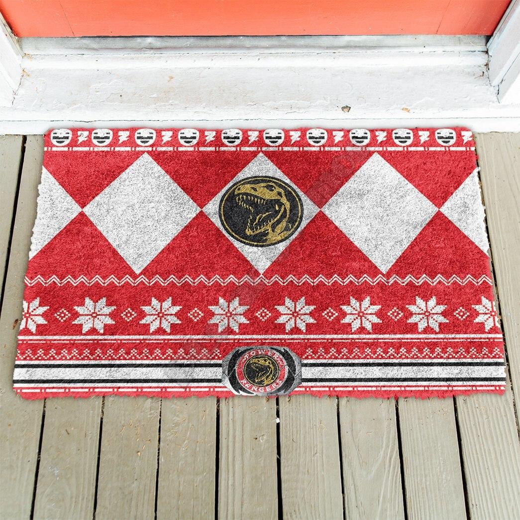Красный дверной коврик с 3D рисунком динозавра, Внутренний дверной коврик, Нескользящие дверные напольные коврики, декоративный коврик для ...