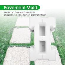 Garden Path Maker Mold DIY Paving Cement Brick Walkway Stone Road Concrete Mold Help You Decorate Your Backyard Landscape