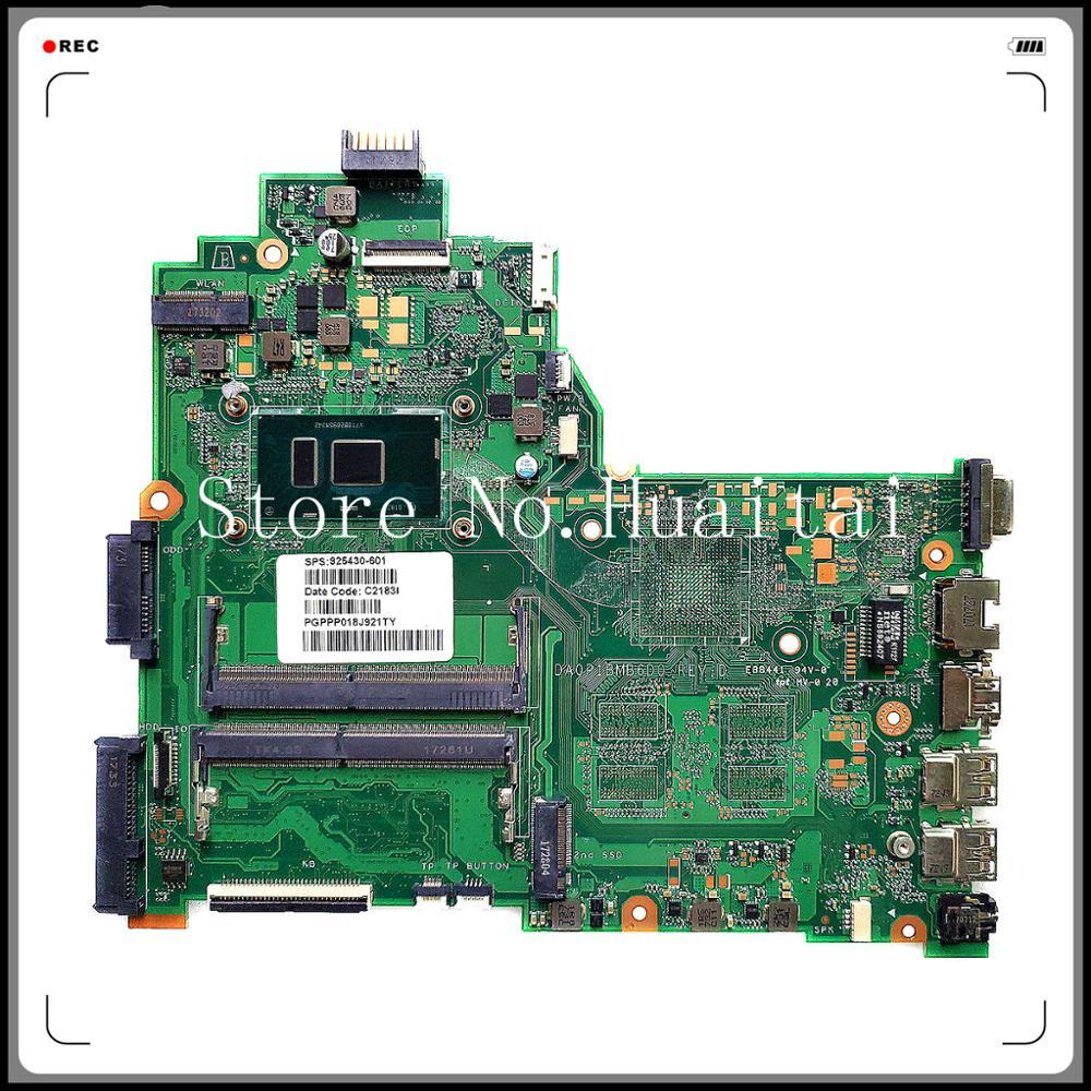 240 G6 14-BS placa base de computadora portátil 925430-001 SR342 I5-7200U DDR4 100% probado plenamente la labor