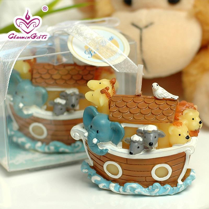 Ноев ковчег в форме свечи мультфильм детский душ Крещение вечерние пользу детей