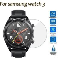 watch screen protector for samsung galaxy watch 3 41mm 45mm watches protector for samsung watch 3 watch band case accessories
