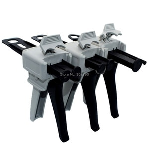 50ml 1:1/1:2/10:1/1:10 Two Part Adhesive Gun Manual Glue Dispenser Guns Epoxy Resin AB Glue Acrylic Adhesive Dispensing Guns