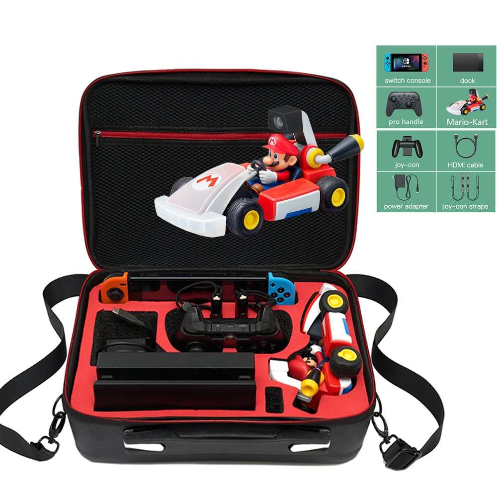 AliExpress - For Nintend Switch Console Racing Mario Car Storage Bag Protective Carrying Portable Travel Case Large Cover NS Game Accessories