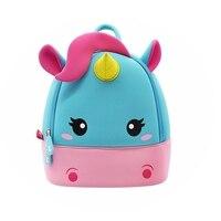 NOHOO Children's Backpack For Girls Boys 6 Years Old Kids & Baby's School Bags Kindergarten Student Unicorn Bag Bagpack 2020 Top