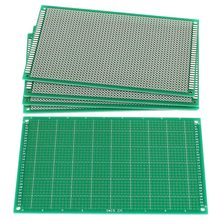 FFYY-5PCS 9cm x 15cm FR-4 Single Side Prototyp PCB Schaltung Universal Board