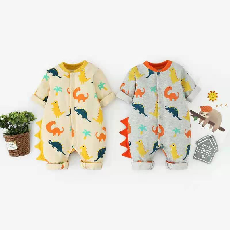 Newborn Baby Winter Clothes Boys Girls Cotton Rompers Long Sleeve Clothing Infant Costumes