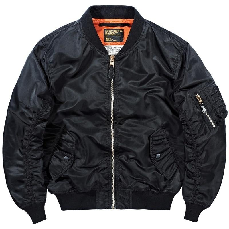 Jiye heavy industry autumn MA1 pilot jacket men's Korean Baseball Jacket Large loose tooling coat Air Force Flying