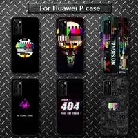 no signal phone case for huawei p40 pro lite p8 p9 p10 p20 p30 psmart 2019 2017 2018