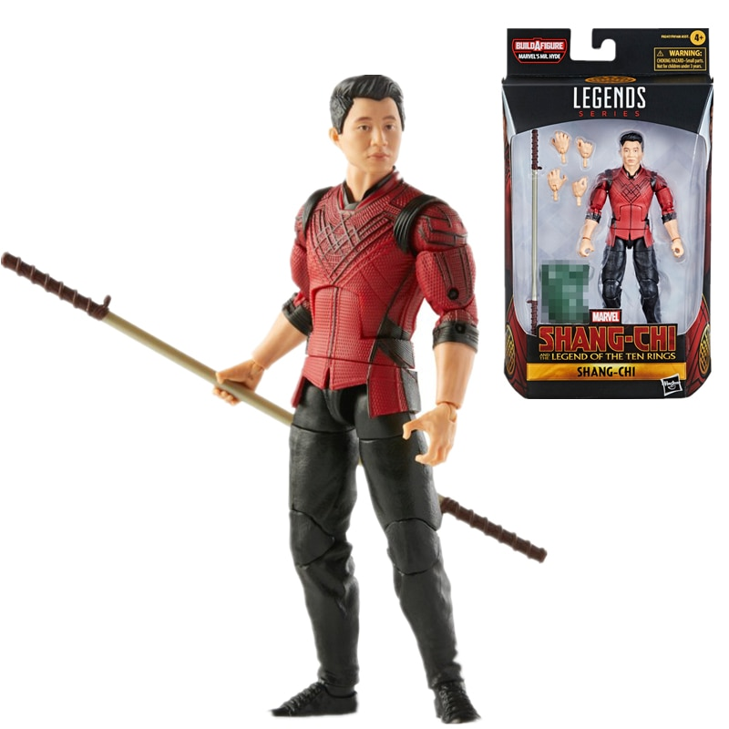 New 6 Inch Disney Marvel Legends Anime Action Figures Shang Chi and The Legend of The Ten Rings Shang Chi Collection Model Toys