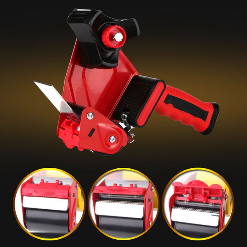 Heavy Duty Tape Dispenser Sealing Packaging Parcel Cutter Machine Manual Packing Tool R2JF