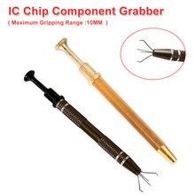 Puce IC/BGA puce composant pince métallique pièces délectricien pince outils de ramassage 4 griffes tenir fermement ensemble doutils à main