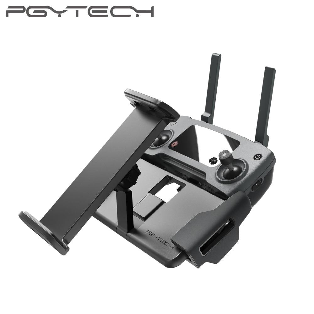 Pgytech dji mavic 2 pro/zoom tablet almofada titular mavic ar/pro/faísca de controle remoto monitor suporte montagem para ipad telefone