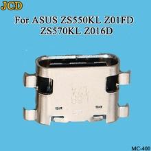 JCD 2 шт./лот, для ASUS ZS550KL Z01FD ZS570KL Z016D, разъем USB для зарядки, разъем для зарядки, док-станция