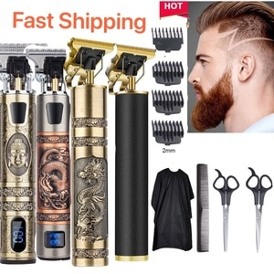 Electric Hair Clipper Rechargeable Professional Scissors cape Hair Trimmer Cordless Men Barber Hair Cutting Machine USB Type-c