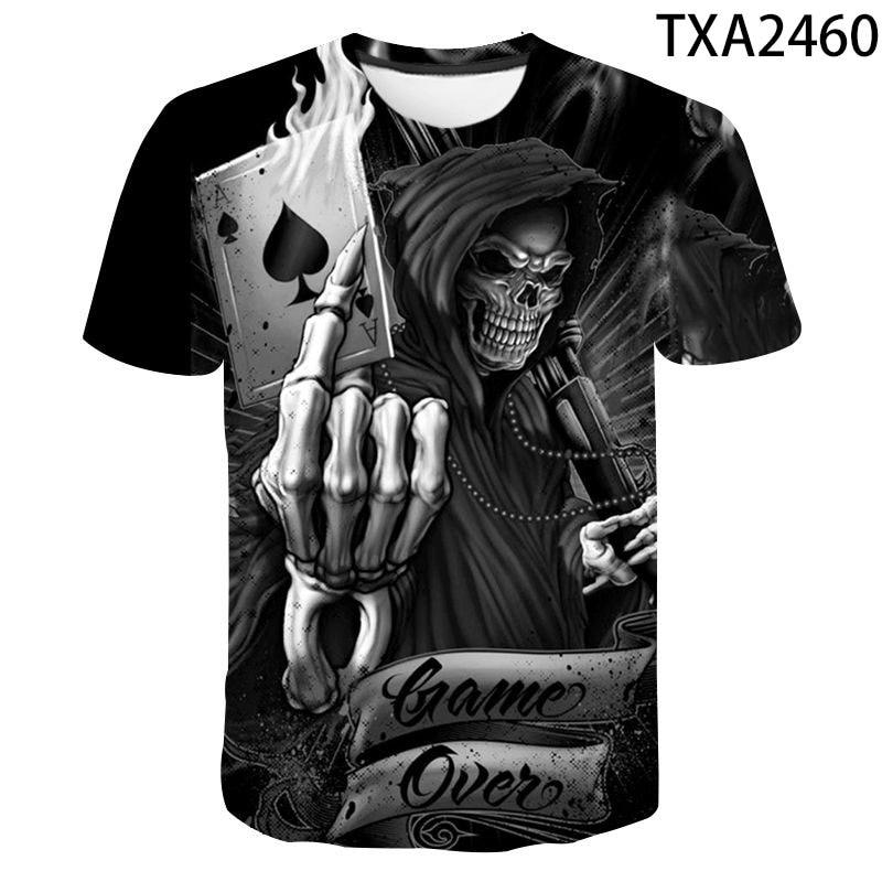 T-Shirt manches courtes homme/femme, fausse veste imprimée 3d, tendance, 110-6xl, nouvelle collection 2020