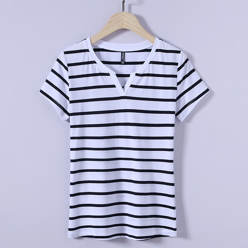 قميص حريمي بأكمام قصيرة 2020 ملابس علوية