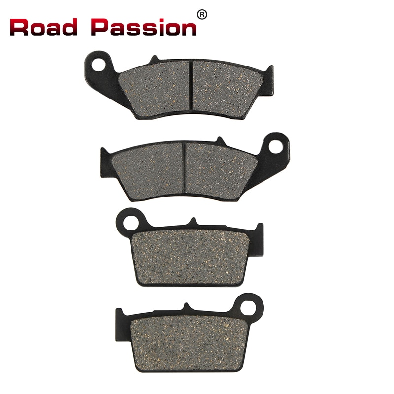 Road Passion Motorcycle Front Rear Brake Pads for Yamaha YZ125 YZ250 YZ250F YZ450 YZ450F 03-07 WR250F WR250R 03-15 WR450 WR450F