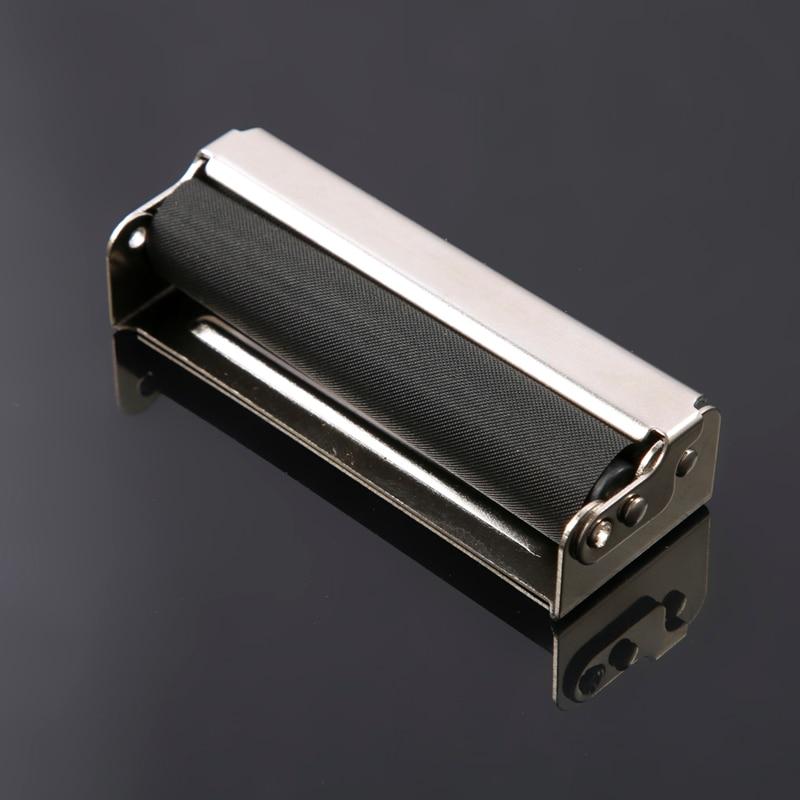 Máquina enrolladora de Metal de 78MM, fabricante portátil de cigarrillos enrollables de tabaco para papel, regalo para hombres mx9281401