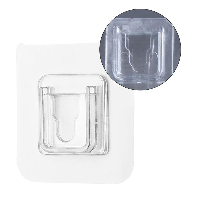 Ganchos de pared adhesivos de doble cara colgador transparente fuerte... ventosa