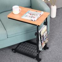 Height Adjustable Laptop Desk Home Computer Economical Working Table For Living Room Bedroom 30x48cm