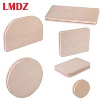 lmdz 6pcsset zipper installation assistant leather craft tool upper zipper correction diy leather craft template hand tool