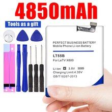 4850mAh wbudowany dla Letv LT55B Le1 Le 1 X600 jeden X660 bateria do telefonu