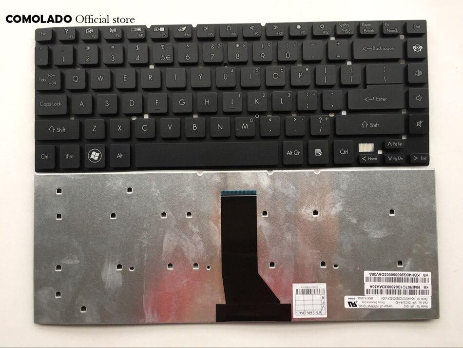 Американская испанская клавиатура для ноутбука Acer Aspire 3830 3830G 3830T 3830TG 4830 4830G 4830T 4830TG V3-471 4755 4755g E1-410