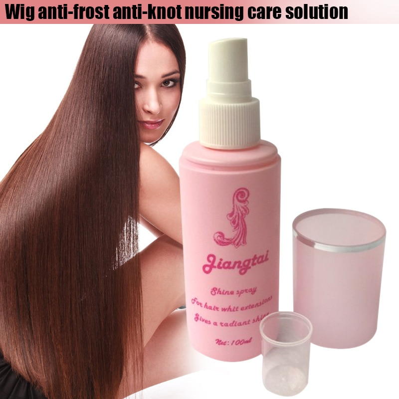 100ML Wig Care Solution Spray For Women Hair Protection Synthetic Hair Wig Conditioner Anti-frizz Sm