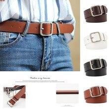 New fashion Ladies Belt Square Buckle Fashion Trend Wild Decorative Belt Adjustable Length Jeans Wai