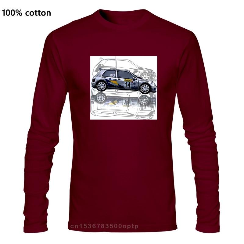 T-shirt Renault Clio Williams Maxi Kit Auto Team Diac Frankrijk Mannen T-shirt 2019 Grappige Mannen Creatieve Vrijetijdsbesteding T-shirt logo