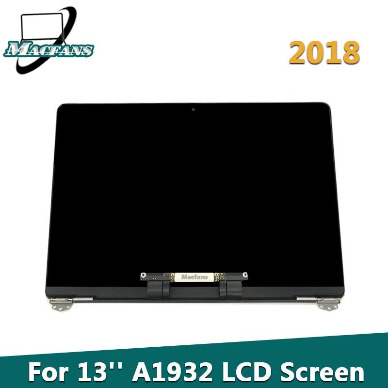 "Marka yeni A1932 LCD ekran meclisi gri/gümüş/altın için Macbook Air 13.3 ""A1932 ekran tam meclisi EMC 3184 MRE82 2018"