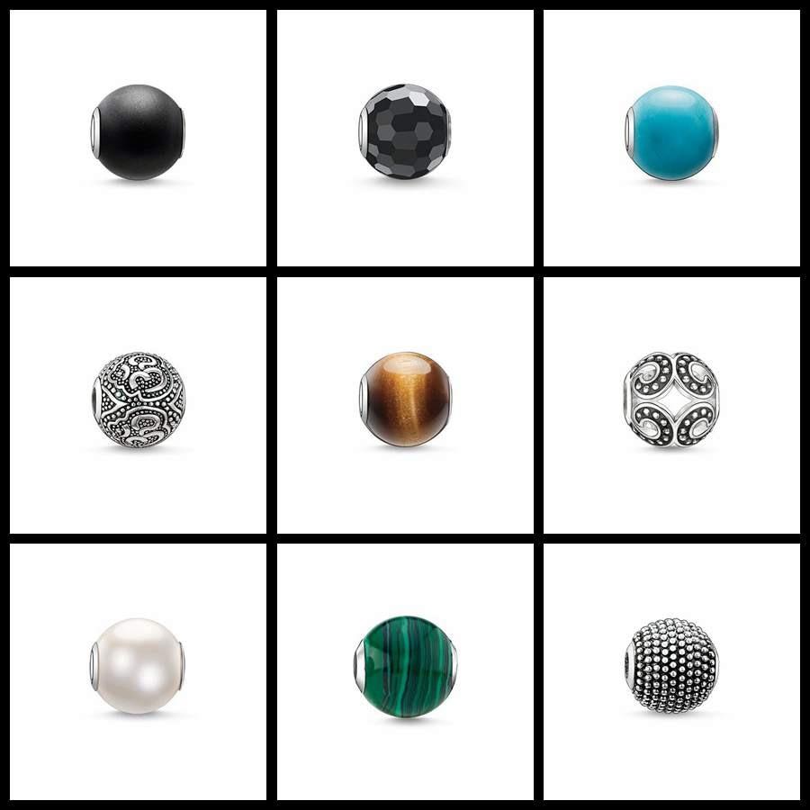 Cuentas Ojo de Tigre obsidiana se adapta a la pulsera Thomas collar Karma encantos accesorios de joyería Europea 2020 nuevo para mujeres y hombres
