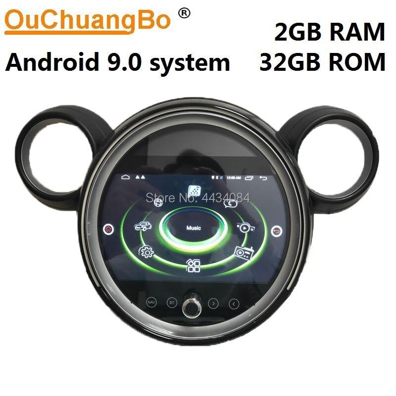 Ouchuangbo radio de coche gps multimedia para Mini Cooper D Countryman Mini Countryman 112 CV R60 Paceman R61 con 4G wifi android 9,0 2GB RAM 32GB ROM gratis Corea mapa