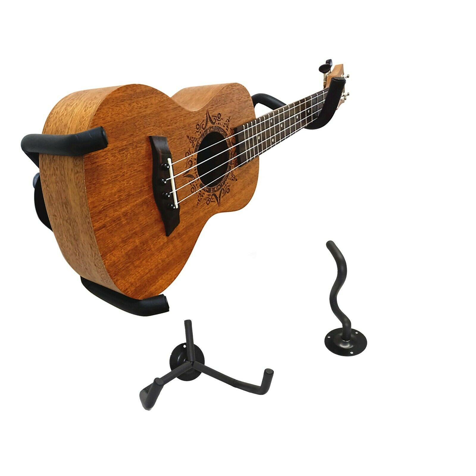 Colgador de pared para ukelele, Mandolin y Banjo, soporte de ukelele, gancho Horizontal de Slatwall