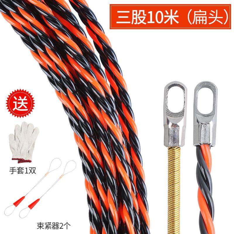 Threader ручной проводной и сетевой кабель стальной провод Threader