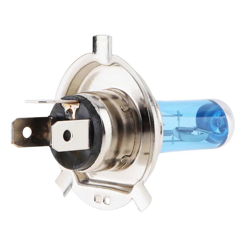 Купить с кэшбэком H4  Halogen Lamp 12V 100W / 55W 5000K  Car Halogen Bulb Xenon Auto Front Headlight Fog Light Bulb Super White