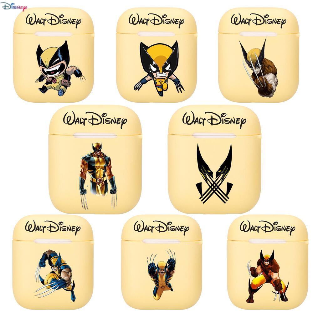Классный силиконовый чехол Disney Росомаха для Apple Airpods 1/2, защитный чехол для наушников, чехол для наушников, защитный чехол для Apple чехол