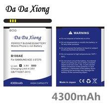 Da Da Xiong 4300 Mah B100AE Batterij Voor Samsung Galaxy Ace 3 S7270 S7272 S7898 S7562C S7568i I699i S7262