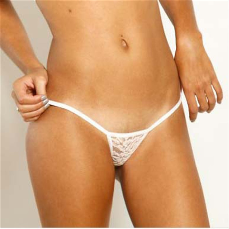 micro bikini tanga mujer swimwear bikinis biquini tankini sexy lingerie thong Solid color Transparent Lace simple classic Mini