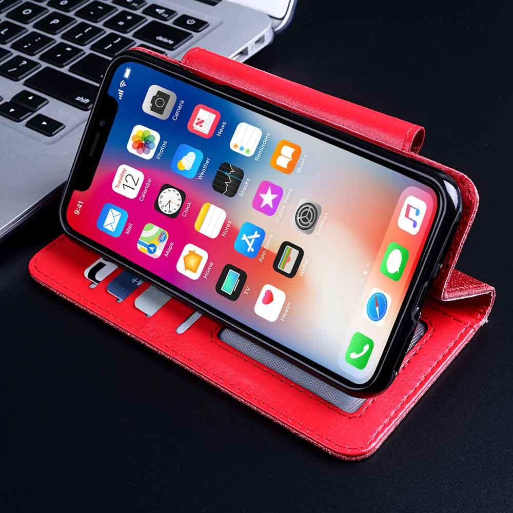 AVEOLELA para LG G7 Fit / G7 una calidad genuina Color brillante teléfono cubierta 3D Rhinestone estuche con cordón promoción