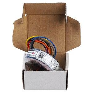 Customized toroidal transformer single-phase isolation ring cow 380 to 220V to 110V single and double 24V12V36V50V60V200W
