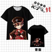 Anime Toilet Bound Jibaku Shounen Hanako kun Cosplay T-shirt Pullovers Short Sleeve Tee Tops Casual Unisex Fahion Summer