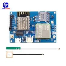 Diymore ESP8266 ESP-12S CH340 A9G GSM GPRS + GPS IOT Knoten V 1,0 Cellular Module Development Board Dual IPEX Antenne für Arduino
