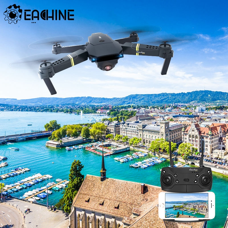 Eachine E58 RC Quadcopter Mini Drone WIFI FPV Profesional With 720P/1080P Wide Angle HD Camera Foldable Arm Racing Dron Toys