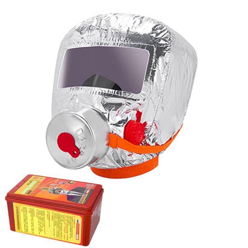 Fire Eacape Face Mask Self-rescue Respirator Gas Mask Smoke Protective Face Cove