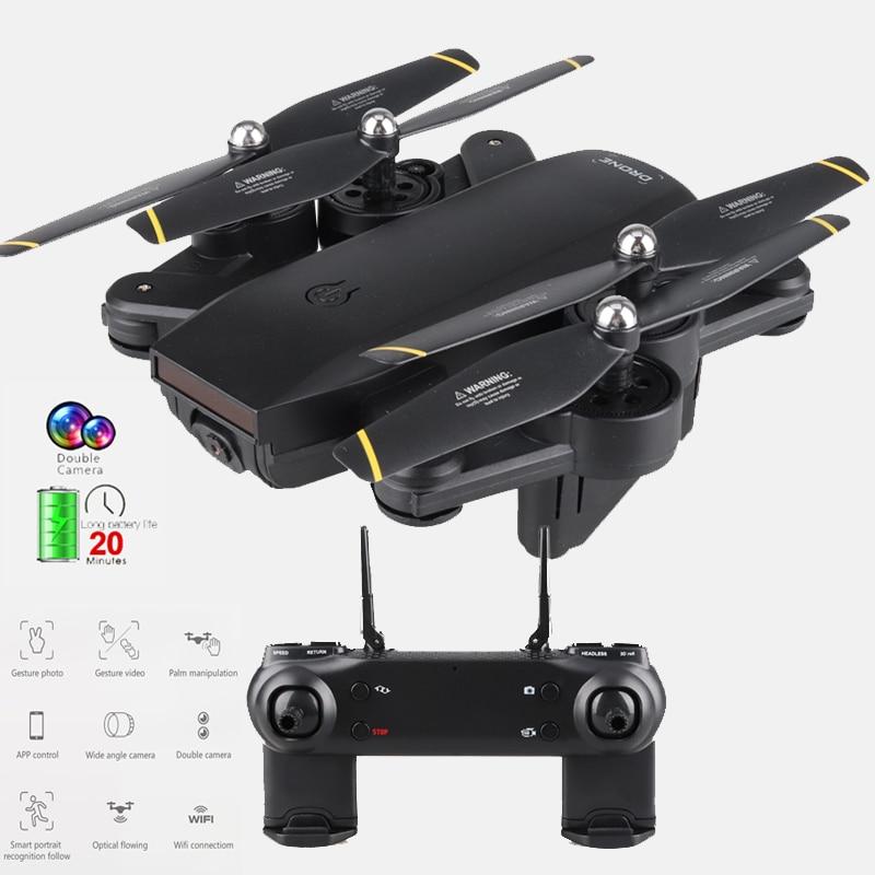 طائرات بدون طيار, طائرة SG700 RC بدون طيار مع كاميرا مزدوجة hd RC هليكوبتر 4k طائرة بدون طيار 20 دقيقة طيران احترافي كوادروكوبتر اتبعني ألعاب drohne